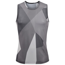 Cube Baselayer NS Mesh Shirt Herren grey camo